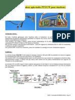 Interface Ordinateur Opto-Isolée PTT CW Pour Émetteur
