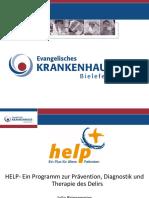 Bringemeier - HELP- Ein Programm Zur Praevention, Diagnostik Und Therapie Des Delirs - 16.5.13 Aachen