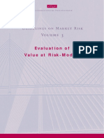 Evaluation of Value at Risk-Models
