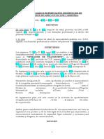 Modelo de Contrato de Transporte Terrestre Mercancías.