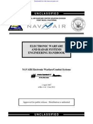 NAWCWD_TP-8347_REV-4_2012 | Electronic Warfare | Radar