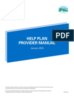 Help Plan Provider Manual