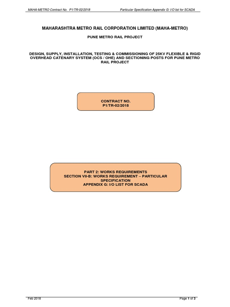 1520412369part22 General Contractor Specification Technical Current Level Relay Sm115 Standard