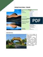 Parque Nacional Villa Tunari