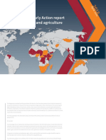 Early Warning Early Action report on food security and agriculture April – June 2018