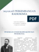SEJARAH RADIOKIMIA PPT