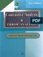 Contrastive Analysis Error Analysis