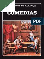 Ruiz de Alarcón, Juan - Comedias