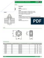 Tuercas Hexagonales DIN 934 DIN en ISO 4032 DIN en 24032--Es
