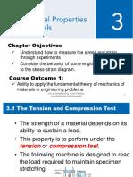 Week 3a Mechanical Properties of Materials