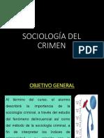 Sociología Del Crimen