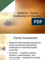 Guidance - Parental Involvement
