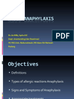 Shock Anaphylaxis
