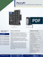 PetroPi Data Sheet