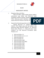 Modul Microsoft Office 2016
