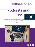 English Podcasts and Puns