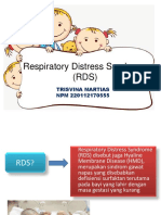 Respiratory Distress Syndrome (RDS)
