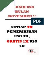 Promo Usg Bulan November