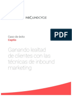 Ganando Lealtad de Los Clientes Con Inbound Marketing - InboundCycle