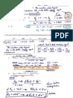 HW Set 18B - Electrochemistry (2016-17) KEY