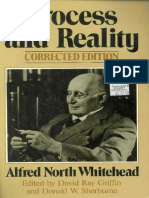 Whitehead Alfred North Process and Reality Corr Ed 1978