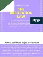 Arbitration Law (RA 876) (1)