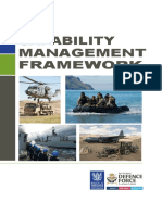 NZ Capability Management Framework Overview