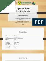 PPT Laporan Kasus Leptospirosis
