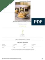Panquecas Americanas - Receitas Nestlé