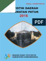 Statistik Daerah Patuk 2016