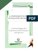 Supervision Cuaderno Pedagogico No 5