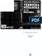 Tehnicka Mehanika III Dio Dinamika - Aleksandar Kiricenko