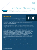 Intent Based Networking