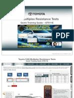 Doc Toyota Multiplex Resistance