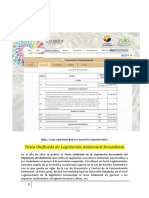 Texto Unificado de Legislación Ambiental Secundaria