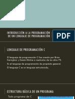 INTRO a La Programación de Un Lenguaje
