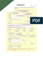 Modelo de Preenchimento ART - Cargo e Função - CLT (Carteira Assinada)