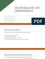 Criterios de Falla de Los Geomateriales