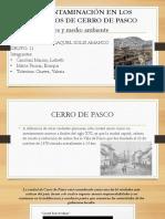 Contaminacion Cerro de Pasco