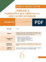 Ubv Normativa Que Orienta La Educacion Superior 55-62
