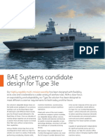 BAE Systems Type 31e Candidate Design