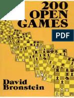 ajedrez david bronstein - 200 partidas abiertas (spanish) 236 pag excelente.pdf