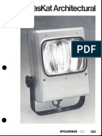 Sylvania TasKat Architectural HID Floodlight Series Brochure 5-84