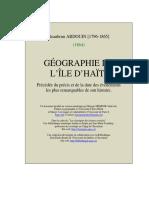 Geographie Ile Haiti