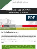 Huella Ecologica Nacional y Departamental
