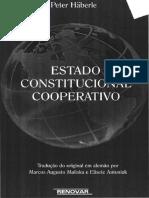 Peter Harbele Estado Constitucional Cooperativo