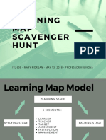 learning map scavenger hunt
