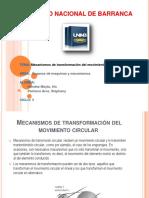 Diapositiva de Organos Mecanismo de Transformacion Circular