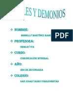 Ensayo de Ángeles y Demonios