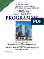 Program ENEC 2018 Site